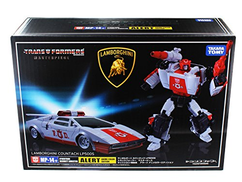 Takara Tomy Transformers Japan Special Limited MP-14+ Red Alert Action Figure