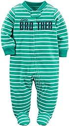Carter\'s Baby Boys Microfleece, Green, New Born