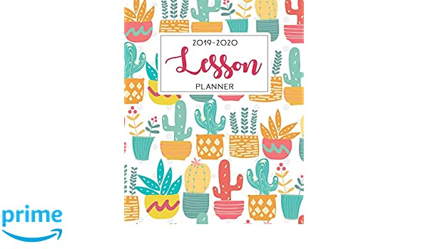 Amazon.com: Lesson Planner: Weekly and Monthly Teacher ...
