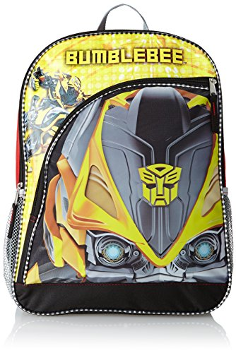 FAB Starpoint Big Boys Transformers Bumble Bee Big Face 16 Inch Backpack