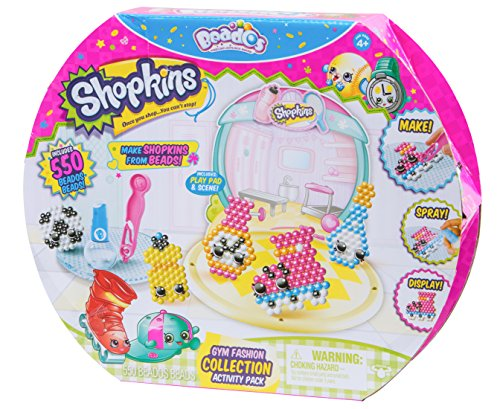 Beados Season 7 Shopkins Activity Pack - Gym Fashion JungleDealsBlog.com