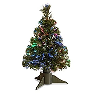 Fiber Optic Ice Pre-Lit Full Christmas Tree 31