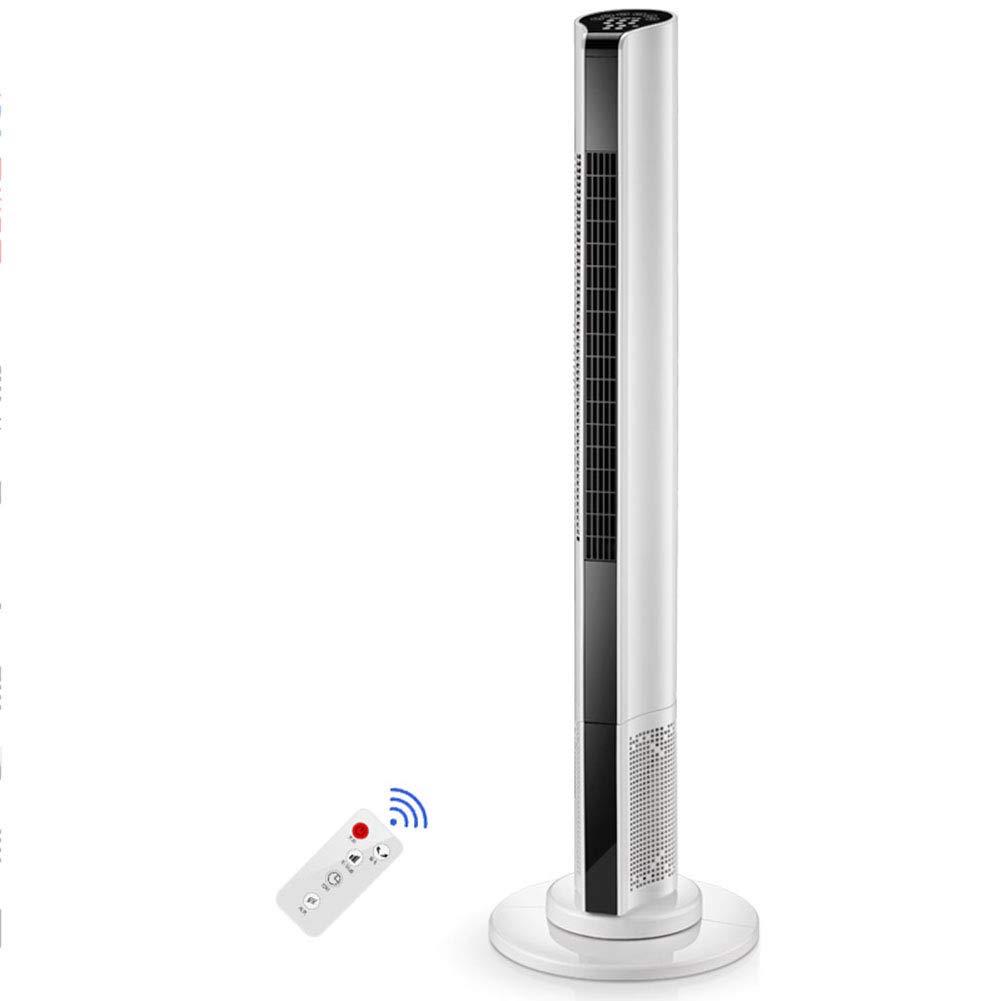 CHAOXIANG 空調ファン エアコンのファン タワーファン 頭を振る 着陸 垂直 リモコン 3風速、 電力50W (色 : 白, サイズ さいず : 300x1100mm) 300x1100mm 白 B07GBYJ823