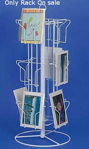 Amazon new retail 3 tier white 12 pocket countertop greeting new retail 3 tier white 12 pocket countertop greeting card rack 6quot m4hsunfo