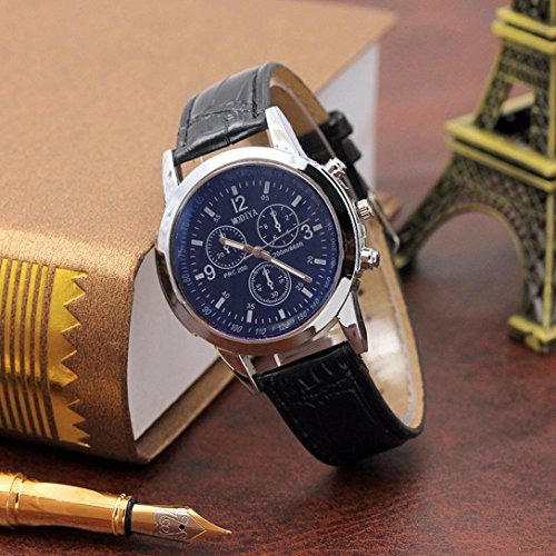 MOKO-PP Belt Sport Quartz Hour Wrist Analog Watch (C, Free Size) by MOKO-PP (Image #4)
