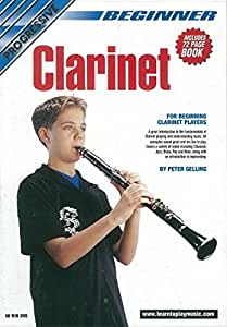 BEGINNER CLARINET: DVD WITH 72 PAGE BOOKLET