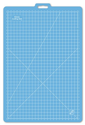 Gridded Rotary Mat (June Tailor 26-Inch-by-39-Inch Gridded with 23-Inch-by-35-Inch GridRotary Mat With Handle)