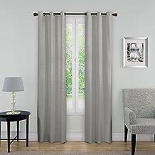 "Eclipse 14403040X063GRE Nikki Thermaback Window Panel, Grey, 40x63"""
