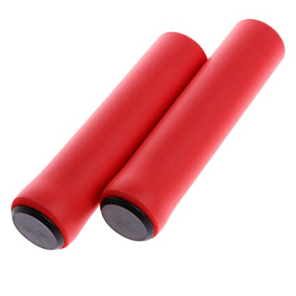 1Pair Bike Silicone Anti-slip Handlebar Grips For Mountain MTB Bicycle Cycling S