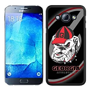 Newest Samsung Galaxy A8 Case ,Popular And Beautiful Designed Case With Southeastern Conference SEC Football Georgia Bulldogs 3 black Samsung Galaxy A8 Screen Cover High Quality Phone Case