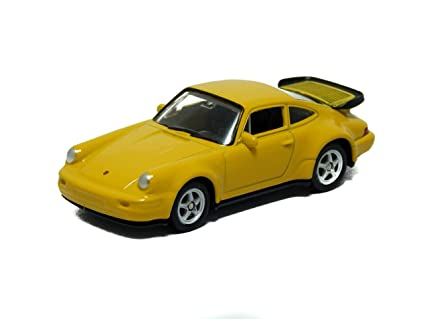 Porsche 964 Turbo Yellow 1:60 Welly