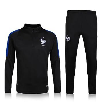 MYZUK-JS8W 2016 2017 Francia Equipo de Entrenamiento de fútbol Fútbol Conjuntos Jersey Camisas en