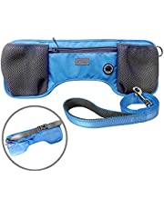 Dogo Designs Hands Free Dog Leash | Waterproof Adjustable Waist Belt for Small to Large Dogs - Hip Strap With Free Reflective Leash | Running, Hiking, Jogging, Dog Training & Walking