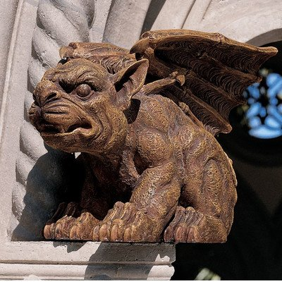 Design Toscano The Gargoyle of Castle Avonshire Sculpture For Sale