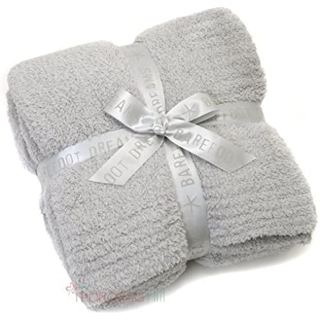 Barefoot Dreams CozyChic Ribbed Throw Color Ocean By Barefoot Dreams