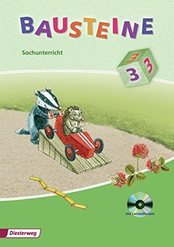 BAUSTEINE Sachunterricht - Ausgabe 2008 für Berlin, Brandenburg, Bremen, Hamburg, Hessen, Mecklenburg-Vorpommern, Rheinland Pfalz, Saarland, Schleswig-Holstein: Arbeitsheft 3