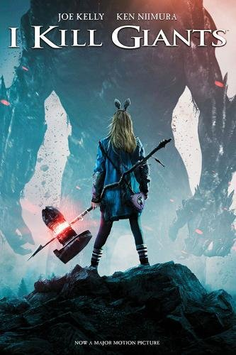Poster of I Kill Giants 2017 Full English Movie Download BluRay 480p