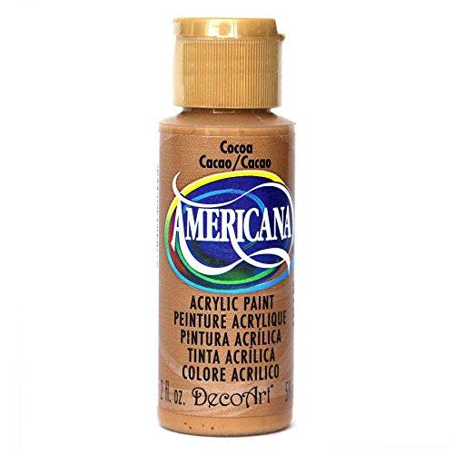 DecoArt Americana Acrylic Paint, 2-Ounce, Cocoa