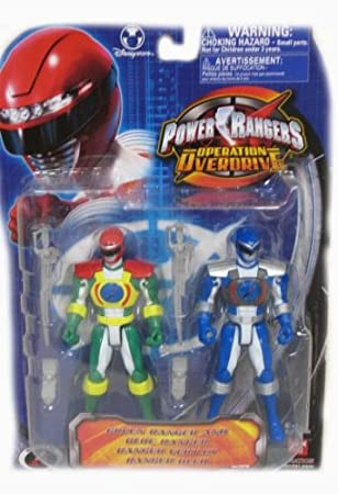 Amazon.com: Power Rangers Operation Over-Drive Green Ranger ...