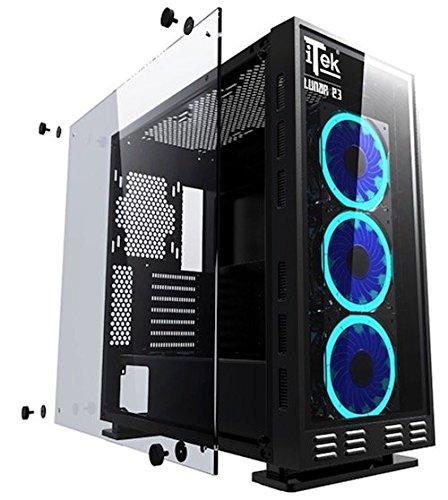 computer fisso da gaming blu  Negozio di sconti online,Computer Gaming Fisso Assemblato Blu