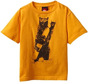 Quiksilver Little Boys' Joyride Kids Tee, Orange Peel, 5/Small