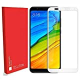 Cellution Pro HD+ 9H Hardness 2.5D 0.3mm Antibacterial Toughened Full Screen Coverage Tempered Glass Screen Protector For Xiaomi Mi Redmi Note 5 - White