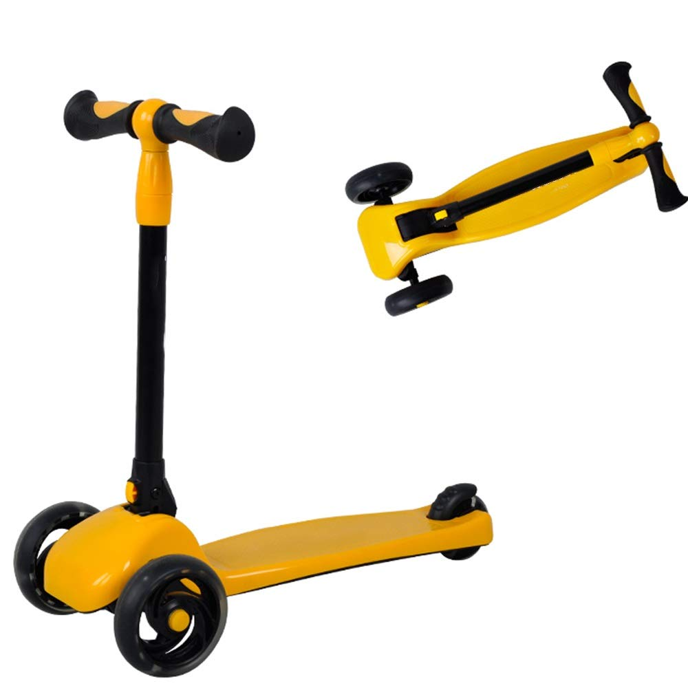 YUMEIGE キックボード本体 黄) キックスクーター3ホイール磁気フラッシュホイールスクーター用2-5歳幼児誕生日プレゼント 利用可能 利用可能 (色 : 黄) 黄 黄 B07R5X25ZJ, アトムオンラインショップ:5aac6f4b --- mail.varisee.fi