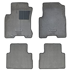 Amazon Com 2008 2010 Nissan Rogue Floor Mats 4 Pccarpeted