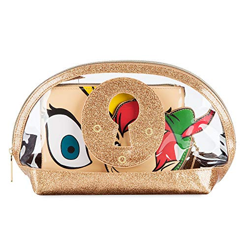 Disney Peter Pan and Tinker Bell Cosmetics Bag Set by Danielle Nicole Multi