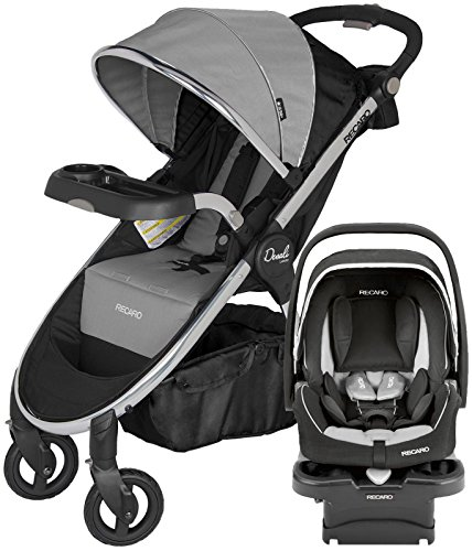 RECARO Performance Denali Luxury Travel System, Granite