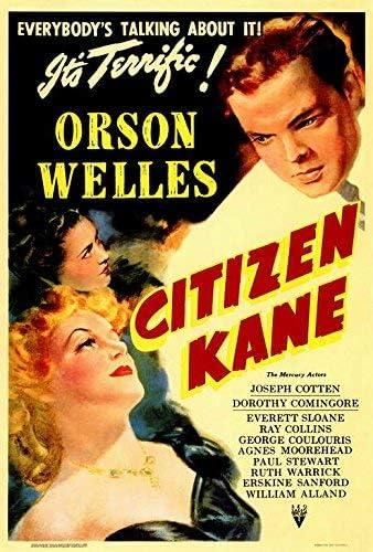 Amazon.com: Citizen Kane Poster Movie (27 x 40 Inches - 69cm x 102cm) (1941):  Posters & Prints