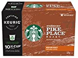 Starbucks Pike Place Roast Coffee Kcups, 60 Count