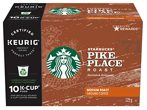 Starbucks Pike Place Roast Coffee Kcups, 60 Count for sale  Delivered anywhere in Canada