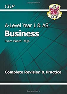 a level business aqa year 1 2 complete revision practice cgp a rh amazon co uk