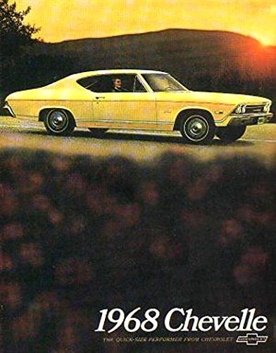 - 1968 CHEVROLET CHEVELLE DEALERSHIP SALES BROCHURE - ADVERTISMENT - LITERATURE - Options, Colors, Specifications, Accessories CHEVY 68