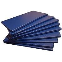 Colchonete Academia, Espuma D33 Impermeável 89x55x3cm - Azul