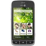 "Doro Liberto 820 Mini -Orange freies 3G Smartphone 4GB,(4"" Touchscreen, 5 MP Kamera, GPS, Bluetooth 4.0, WiFi, Android 4.4) stahl/schwarz"