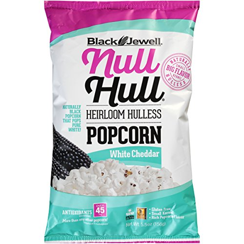New launch Black Jewell Null Hull Popcorn – Virtually Hulless – White Cheddar – 5.5 ouncesBag – Pack of eight  Evaluations