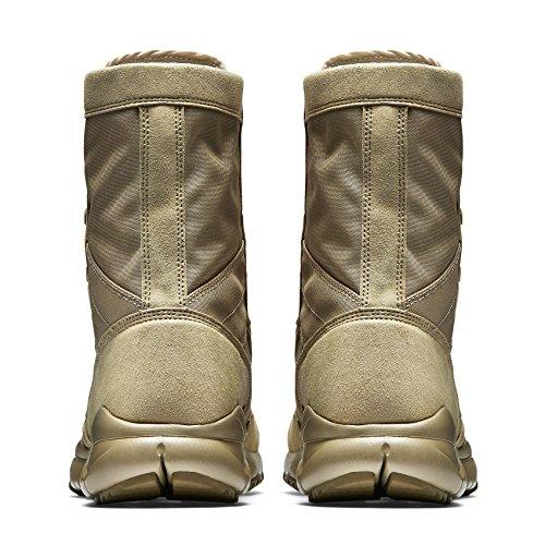 Nike Sfb 329798-221 Stivali Tattici Per Campi Speciali Kaki Da Uomo / Deserto