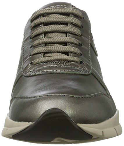 Geox D Sukie a, Zapatillas para Mujer Marrón (Taupe)