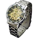 Winner Skeleton Self Wind Mens Mechanical Watch
