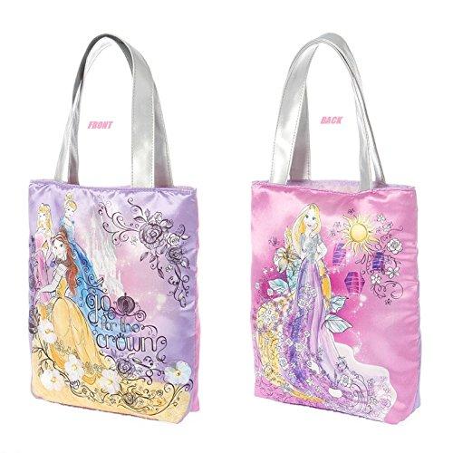 Bella Tote Bag (Disney Princess Sketch Drawings Girl's Tote Bag Purse Cinderella Belle Sleeping Beauty One Size)