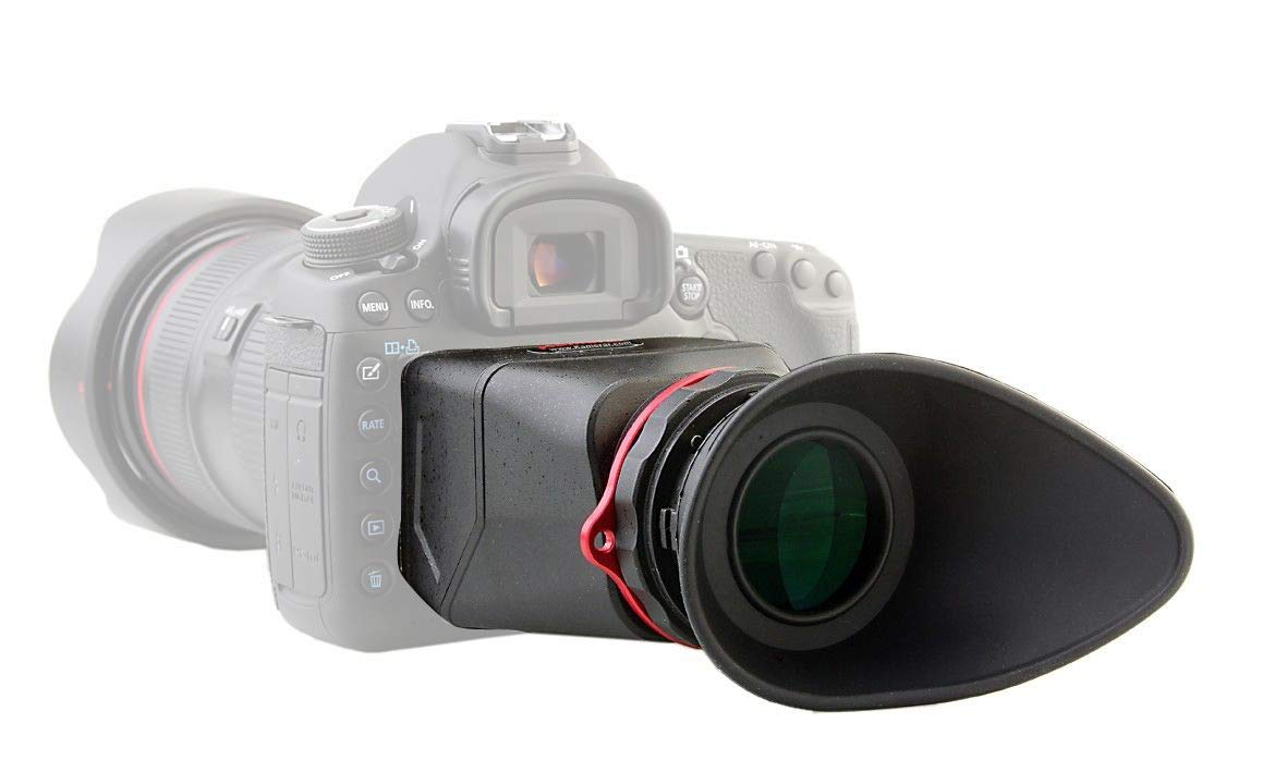 Kamerar MagView 16:9 16/9 3.2'' LCD Screen Viewfinder View Finder LCDVF For Canon 5D MarkIII Canon 1DX