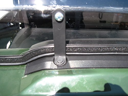 Kawasaki Mule Pro Series 2015 and Newer FULL-TILT WINDSHIELD. We need to know what kind of roof you have Hard or Soft? Check email/junk file for message after order is placed by UTV Windshields and Accessories (Image #4)