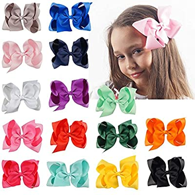 CN Boutique Hair Bows With Alligatior Clip For Baby Children Girl …