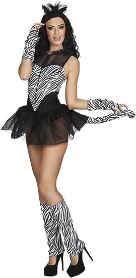 BOLAND 83635 adultos Disfraz Hot Zebra, 36/38: Amazon.es: Juguetes ...