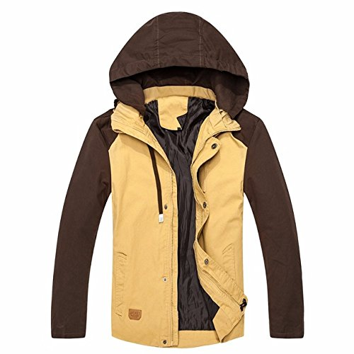 09e8da03136 World2home 2017 New Men's warm Windpoof Jackets Men Spring Autumn Jacket  Coats Male Brand Clothing Plus Size Clothing international brand:  Amazon.in: ...