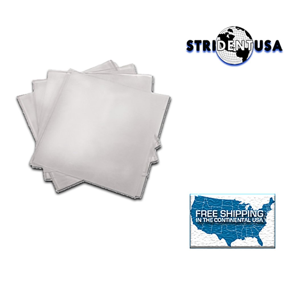 .040 Soft EVA Bleaching Tray Material 5'' x 5'' Box of 25