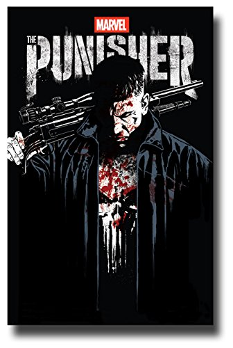 Punisher Poster TV Show Promo 11 x 17 inches Sketch