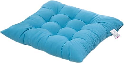 Worsendy Cuscino Sedia, cuscini per giardino, per dentro eo fuori,40x40 cm,disponibile in tanti colori diversi,Cuscini per sedie da giardino,copri